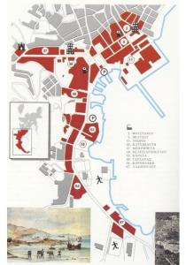 Industrial buildings in Hermoupolis
